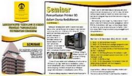 Seminar Pemanfaatan Printer 3D dalam Dunia Kedokteran
