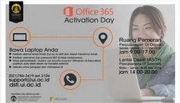 Aktivasi Office 365 untuk Mahasiswa dan Dosen