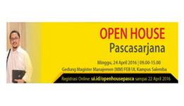 Open House Program Pascasarjana Universitas Indonesia