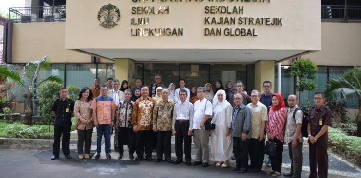 Peresmian Gedung Sekolah Ilmu Lingkungan dan Sekolah Kajian Stratejik dan Global