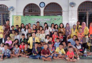 Peningkatan Minat Baca Anak Kawasan Rawan Kebakaran di Kelurahan Tanah Tinggi Jakarta Pusat