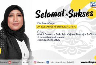 Serah Terima Jabatan Wakil Direktur Sekolah Kajian Stratejik dan Global UI 2021